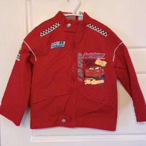 Lightning McQueen fall jacket